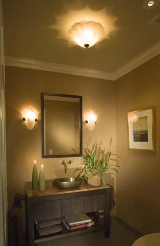 Mirror mirror a guide for bathroom vanity lightingies - Bathroom vanity mirror side lights ...