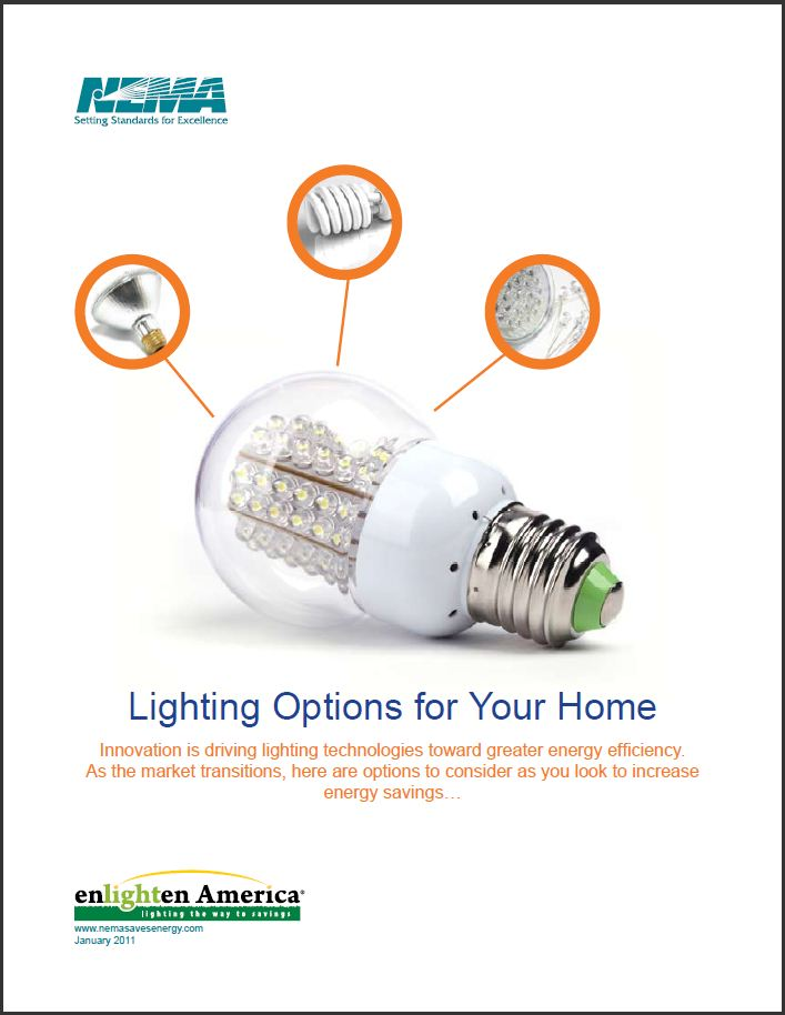 NEMA Tips for Energy Efficient Home Lighting Options