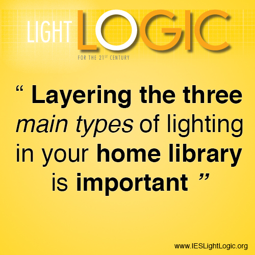 Lighting Your Home Library